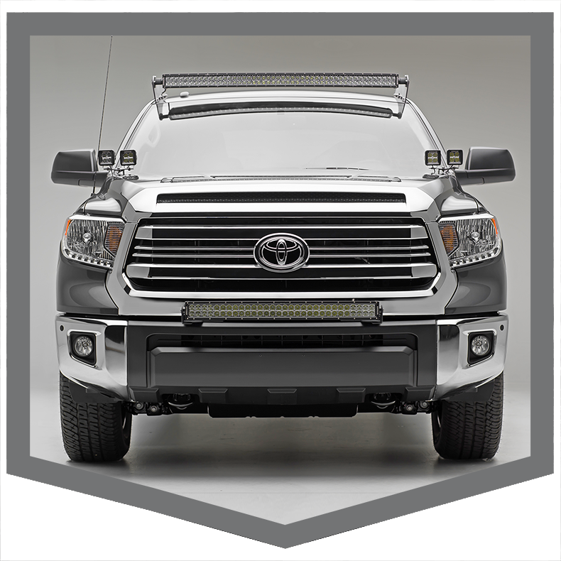 Toyota Tundra Front Roof LED Light Mounts