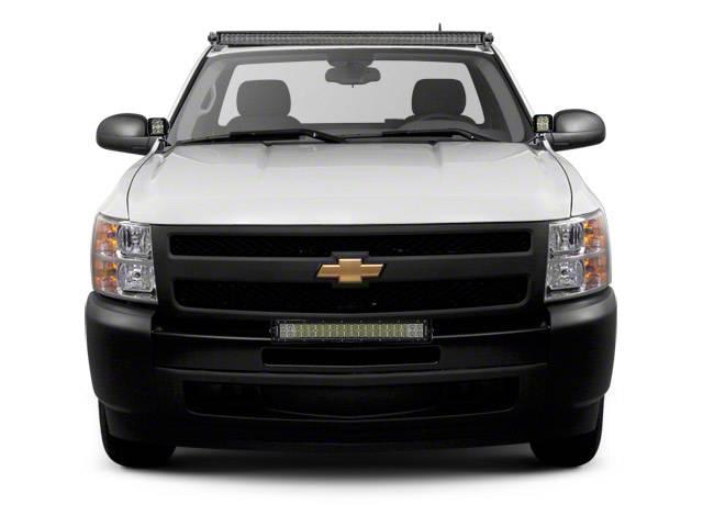 2007 2013 Chevrolet Silverado 1500 Front Bumper Top Led Bracket To Mount 1 30 Inch Led Light Bar Pn Z322051