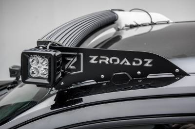 ZROADZ                                             - Universal Front Roof LED Bracket to mount (2) 3 Inch LED Pod Lights - PN #Z330001