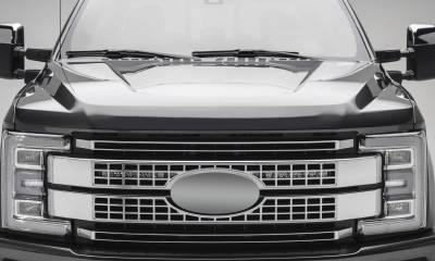 2017-2019 Ford Super Duty Platinum OEM Grille LED Kit, Incl. (2) 10 Inch LED Single Row Slim Light Bar - PN #Z415371-KIT