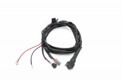 ZROADZ                                             - Universal 9 FT DTC Wiring Harness to connect 1 LED Light Bar, 200 Watt or above - PN #Z390020S-B