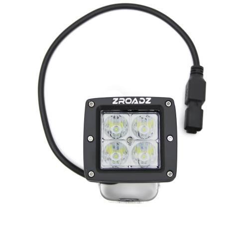 ZROADZ                                             - 3 Inch LED Flood Beam Pod Light - PN #Z30BC14W20