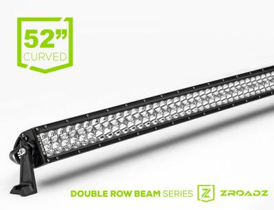 ZROADZ                                             - 52 Inch LED Curved Double Row Light Bar - PN #Z30CBC14W300