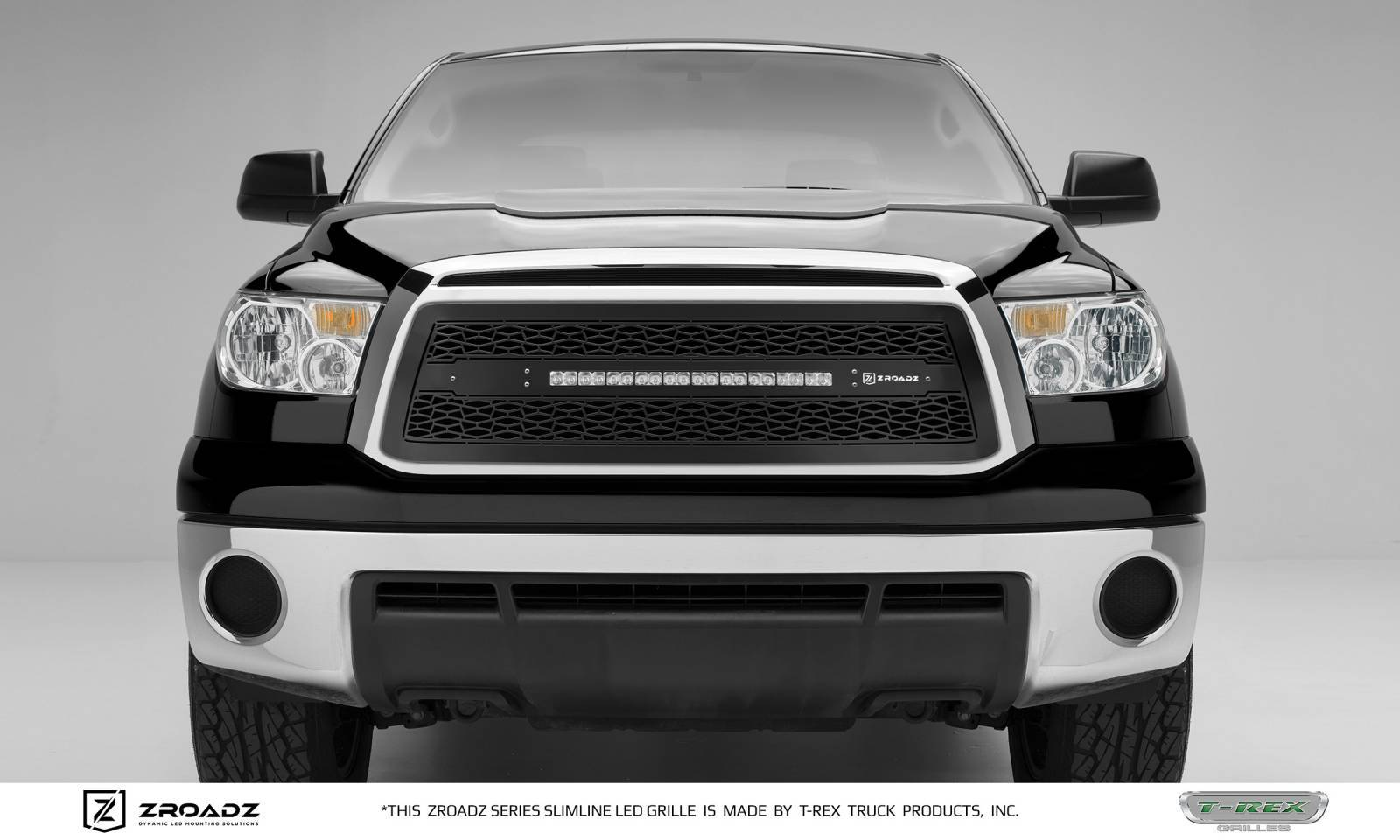 "2010-2013 Tundra ZROADZ Grille, Black, 1 Pc, Insert, Incl. (1) 20"" LED - PN #Z319631"