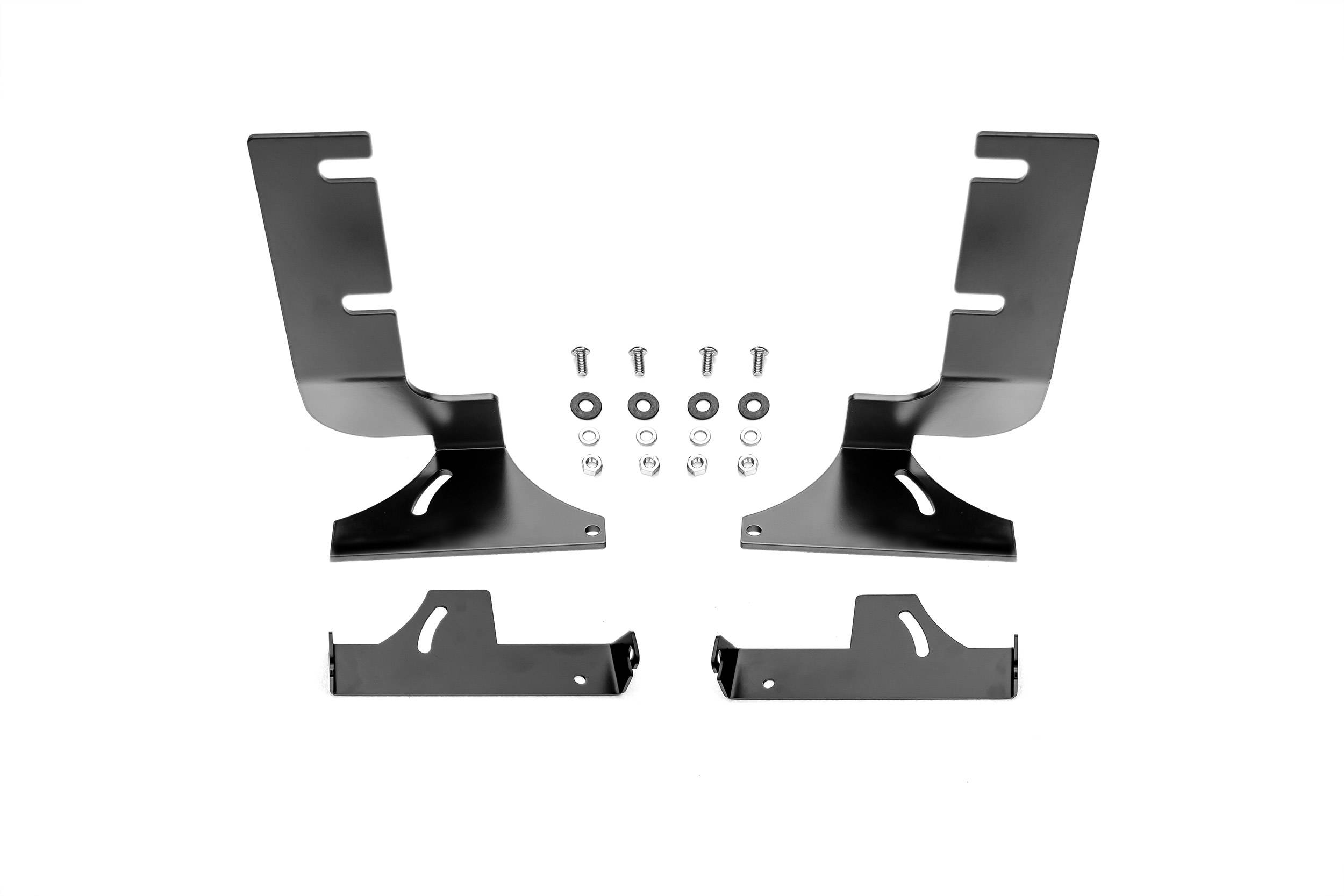 ZROADZ                                             - 2019-2020 Silverado, Sierra 1500 Rear Bumper LED Bracket to mount (2) 6 Inch Straight Light Bar - PN #Z382282