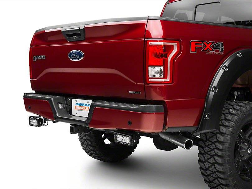 ZROADZ                                             - 2015-2017 Ford F-150 Rear Bumper LED Kit, Incl. (2) 6 Inch LED Straight Double Row Light Bars - PN #Z385731-KIT