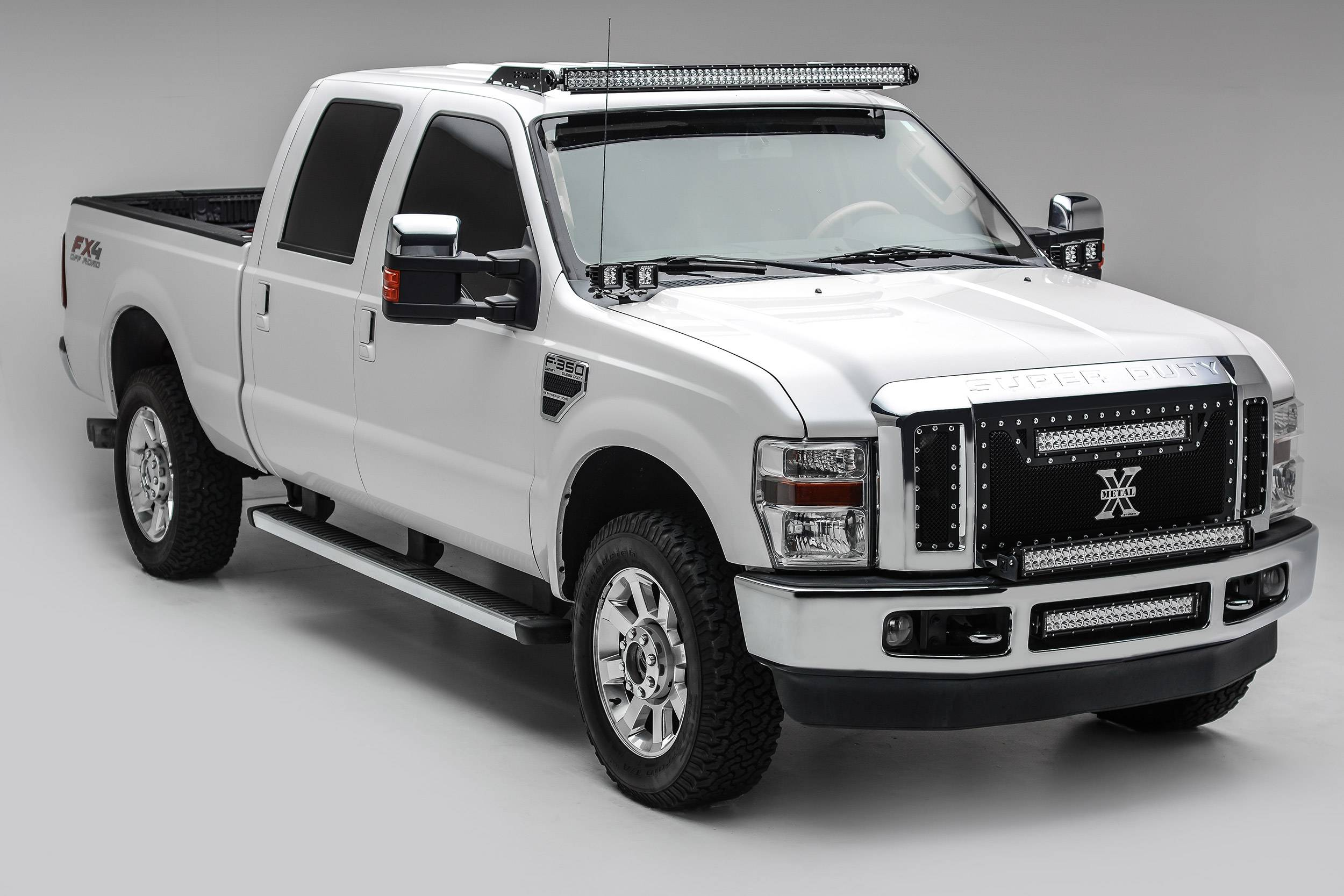 ZROADZ                                             - 2008-2010 Ford Super Duty Front Bumper Top LED Bracket to mount (1) 30 Inch LED Light Bar - PN #Z325631