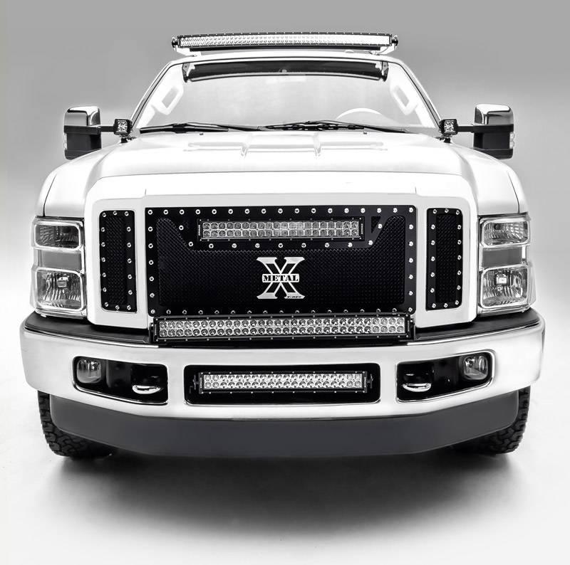 ZROADZ                                             - 2011-2016 Ford Super Duty Hood Hinge LED Kit, Incl. (2) 3 Inch LED Pod Lights - PN #Z365461-KIT2