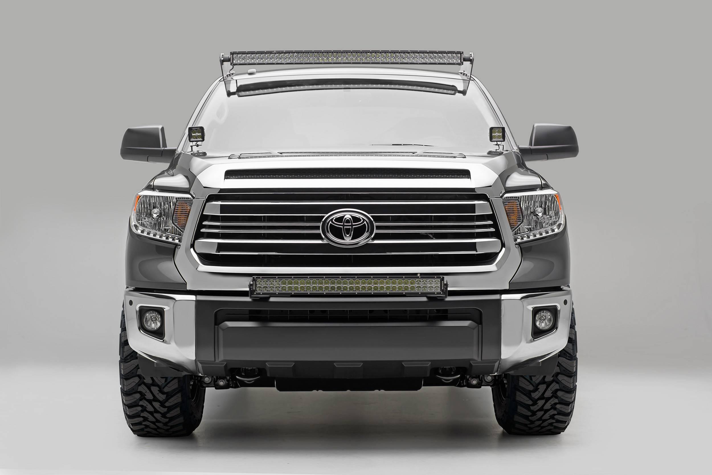 2014-2019 Toyota Tundra Hood Hinge LED Kit, Incl. (2) 3 Inch LED Pod Lights - PN #Z369641-KIT2
