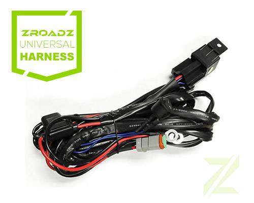 Universal DT Series Wiring Harness - PN #Z390020S-A