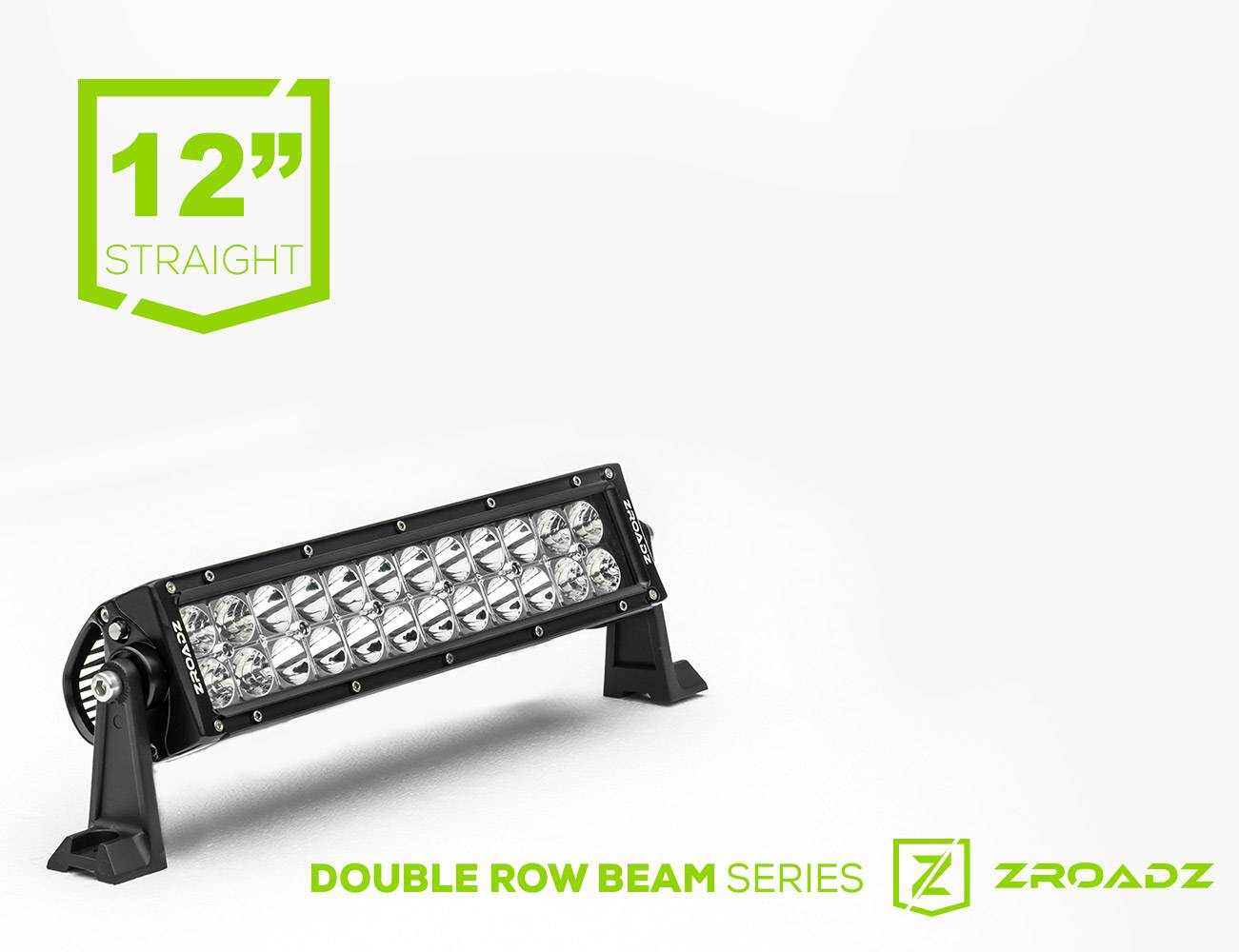 ZROADZ                                             - (1) 12 Inch LED Straight Double Row Light Bar - PN #Z30BC14W72