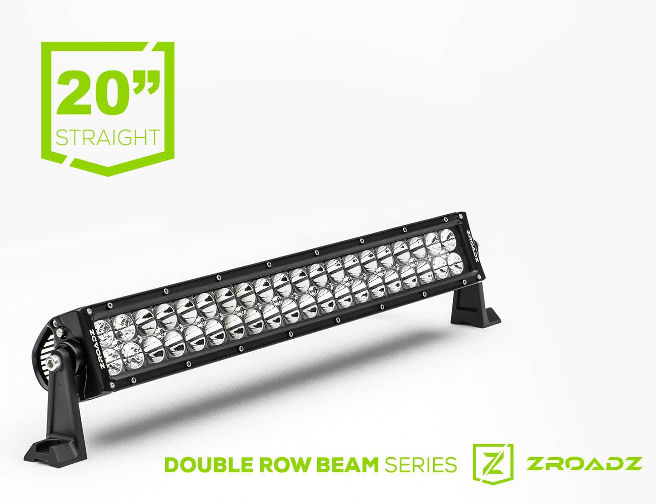ZROADZ                                             - 20 Inch LED Straight Double Row Light Bar - PN #Z30BC14W120