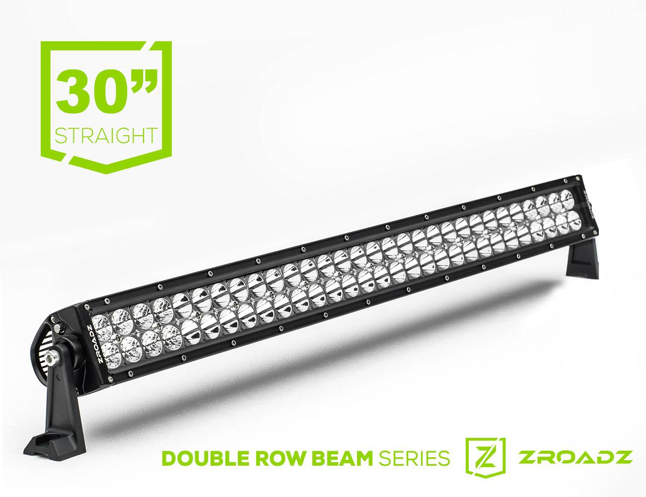 (1) 30 Inch LED Straight Double Row Light Bar - PN #Z30BC14W180