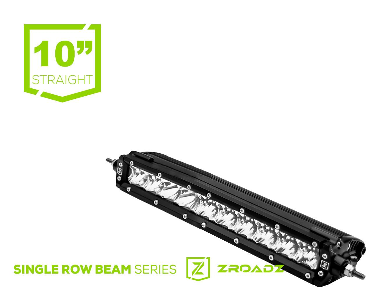 ZROADZ                                             - (1) 10 Inch LED Single Row Slim Light Bar - PN #Z30S1-10-P7EJ