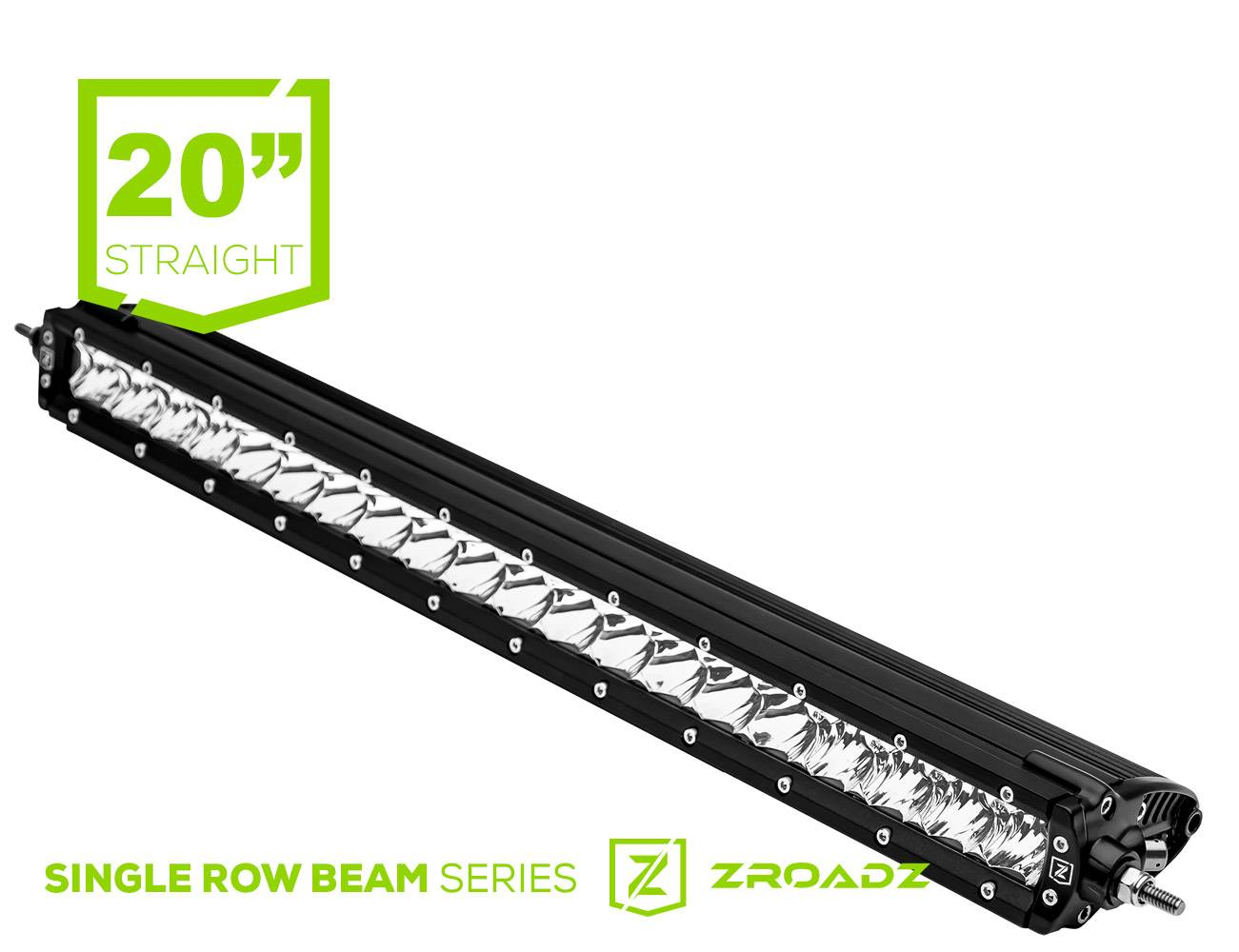 (1) 20 Inch LED Straight Single Row Slim Light Bar - PN #Z30S1-20-P7EJ