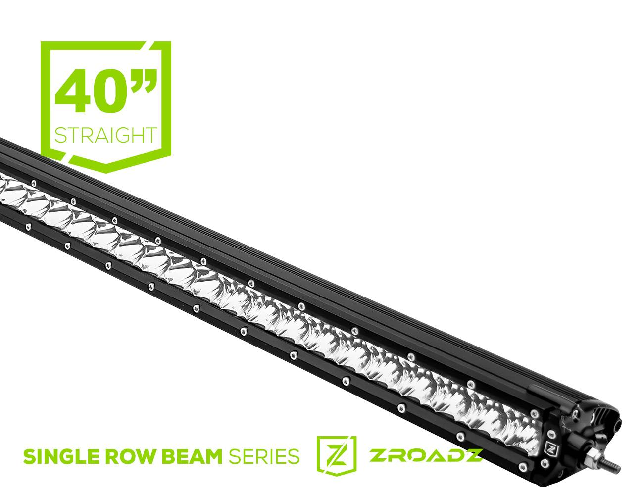 ZROADZ                                             - 40 Inch LED Straight Single Row Slim Light Bar - PN #Z30S1-40-P7EJ