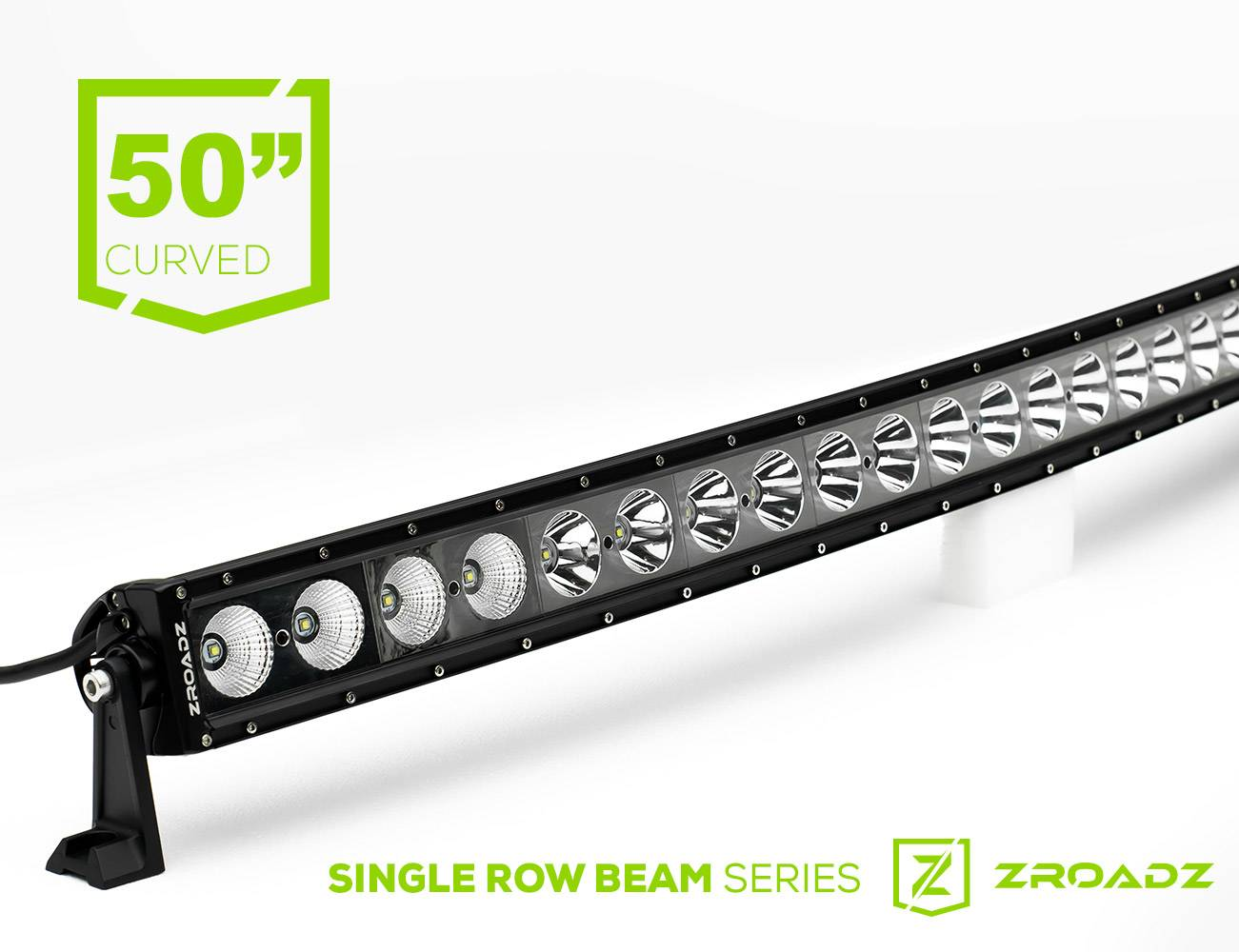 ZROADZ                                             - 50 Inch LED Curved Single Row Light Bar - PN #Z30CBCS12W240