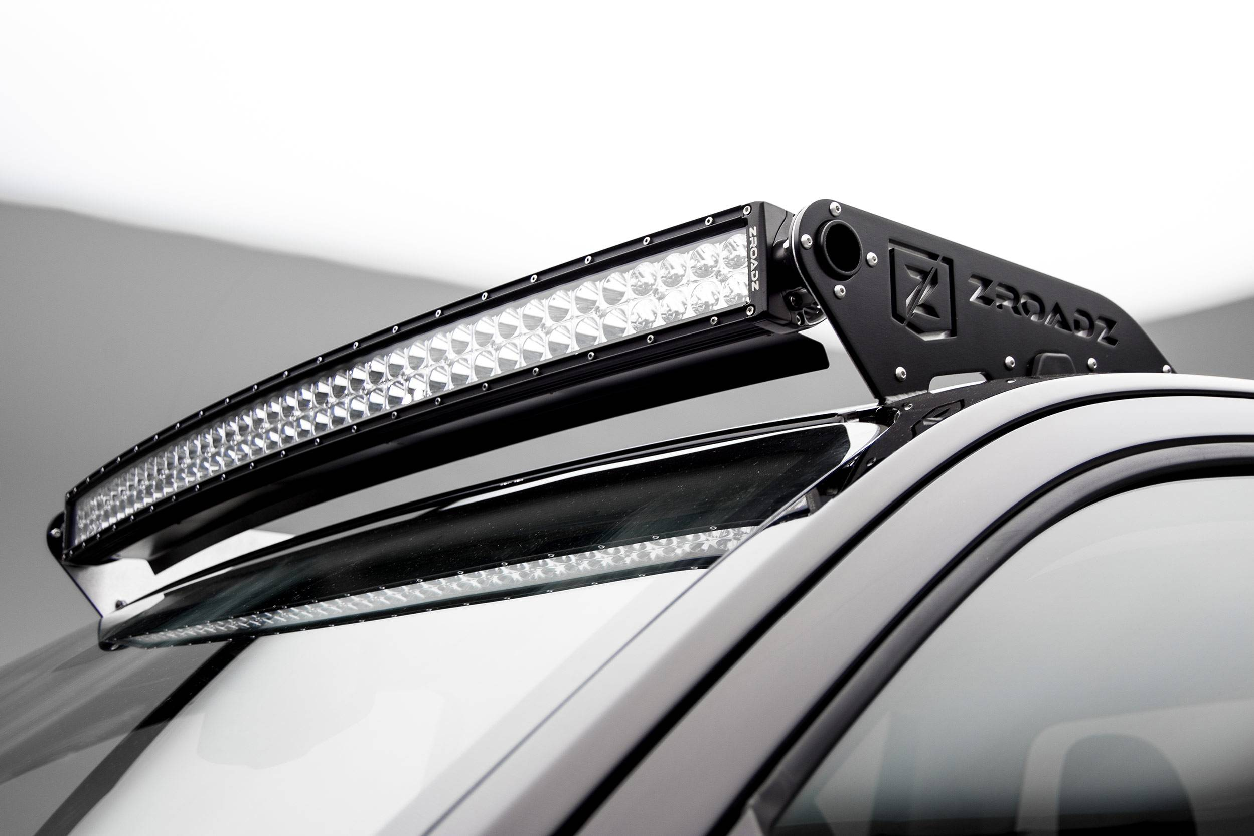 2015-2019 Colorado, Canyon Front Roof LED Kit, Incl. (1) 40 Inch LED Curved Double Row Light Bar - PN #Z332671-KIT-C