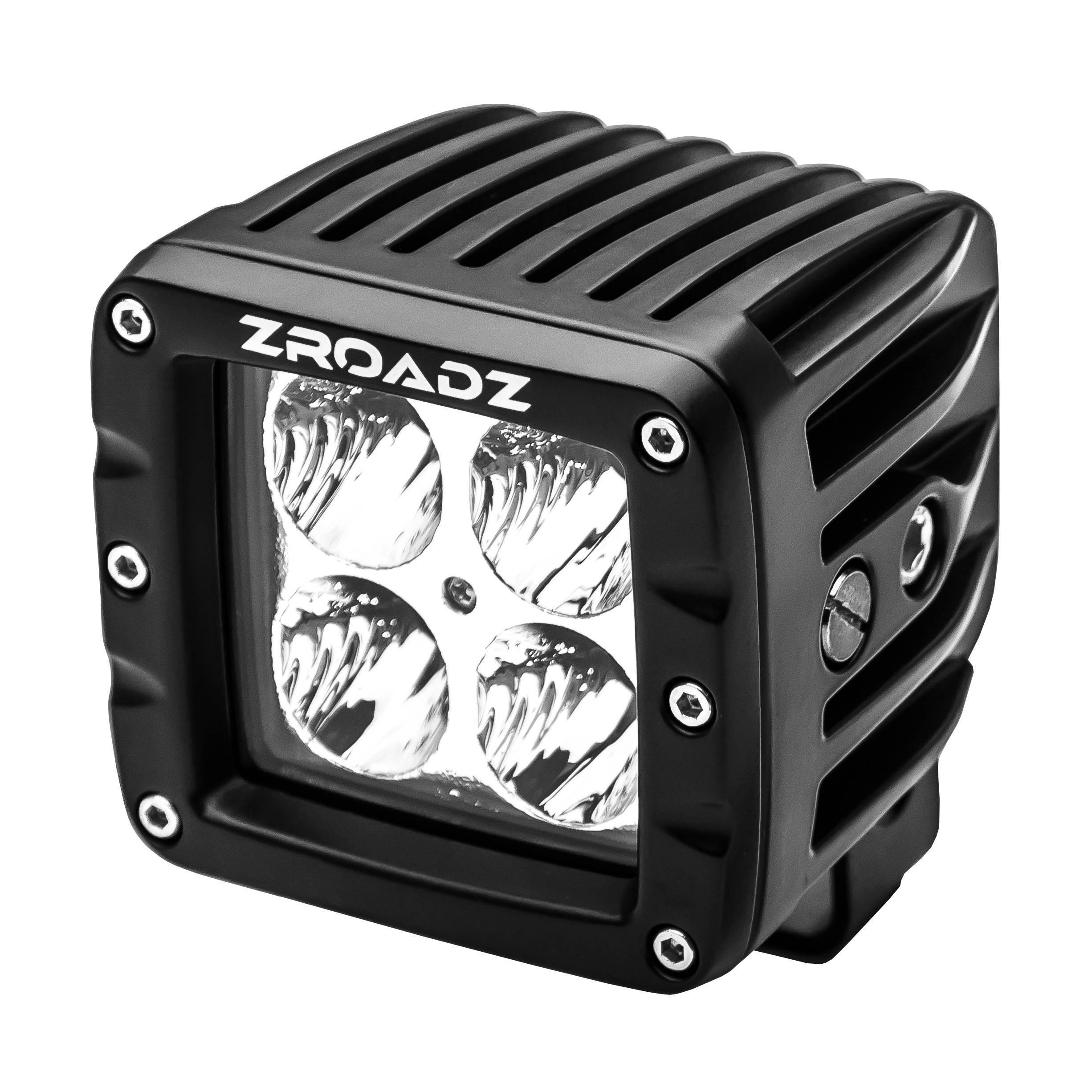 ZROADZ                                             - 3 Inch LED Flood Beam Pod Light - PN #Z30BC14W20