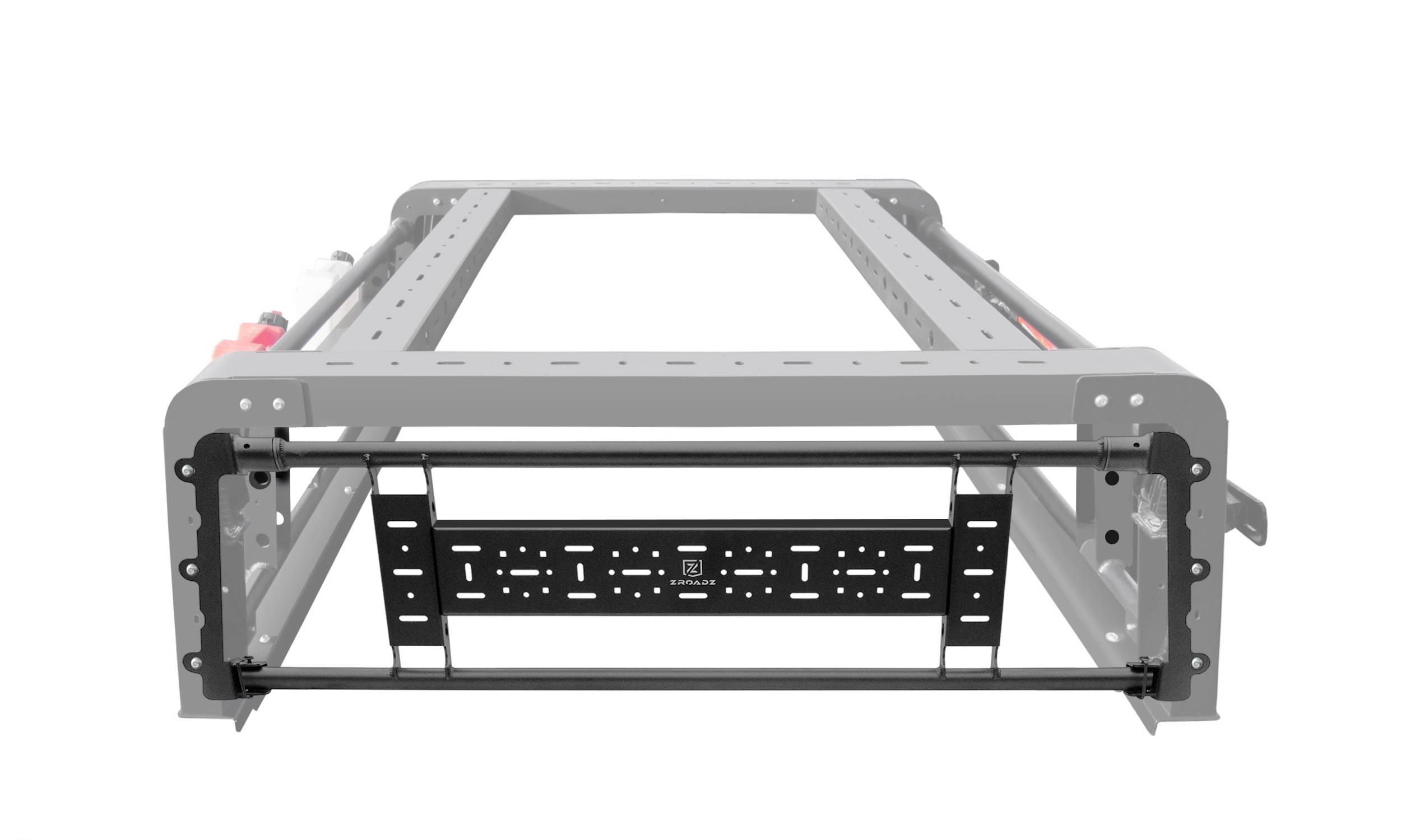 ZROADZ                                             - 2019-2021 Jeep Gladiator Access Overland Rack Rear Gate - PN #Z834001
