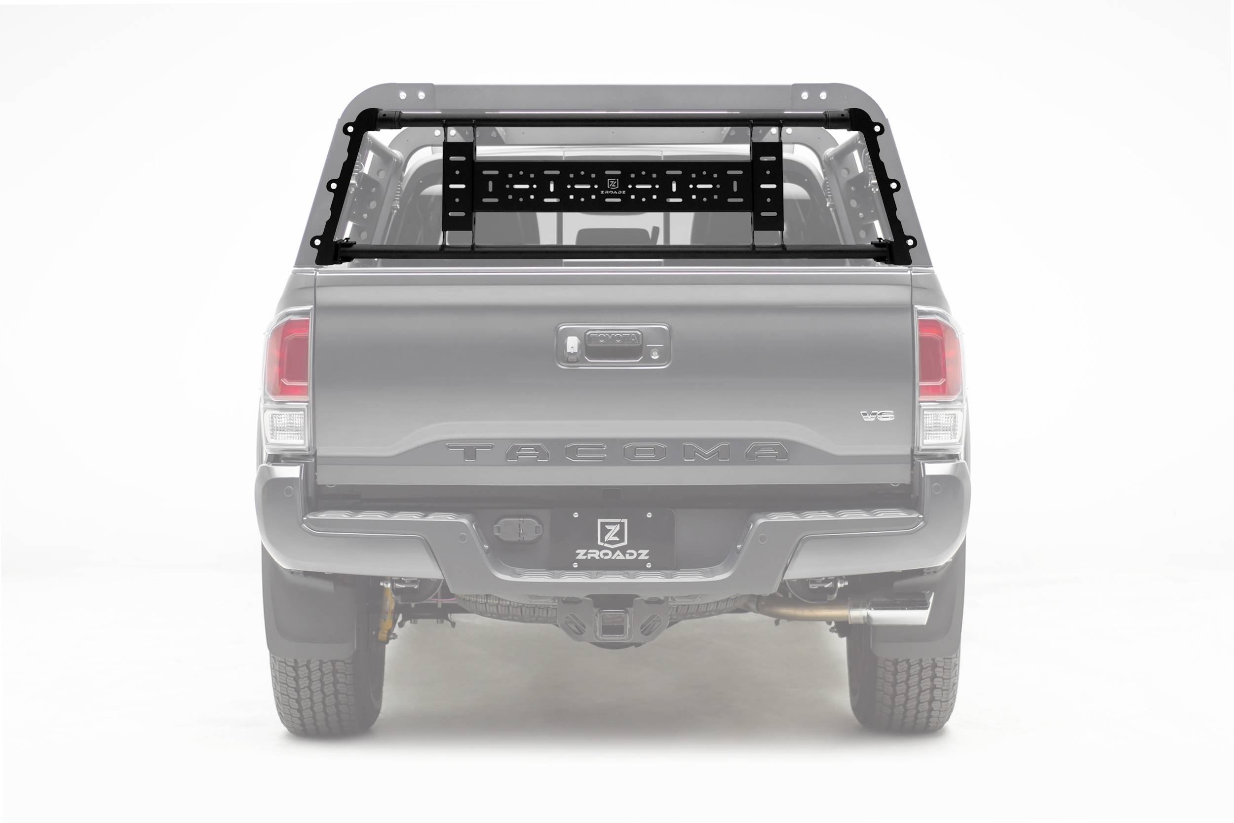 ZROADZ OFF ROAD PRODUCTS - 2016-2021 Toyota Tacoma Access Overland Rack Rear Gate - PN #Z839001