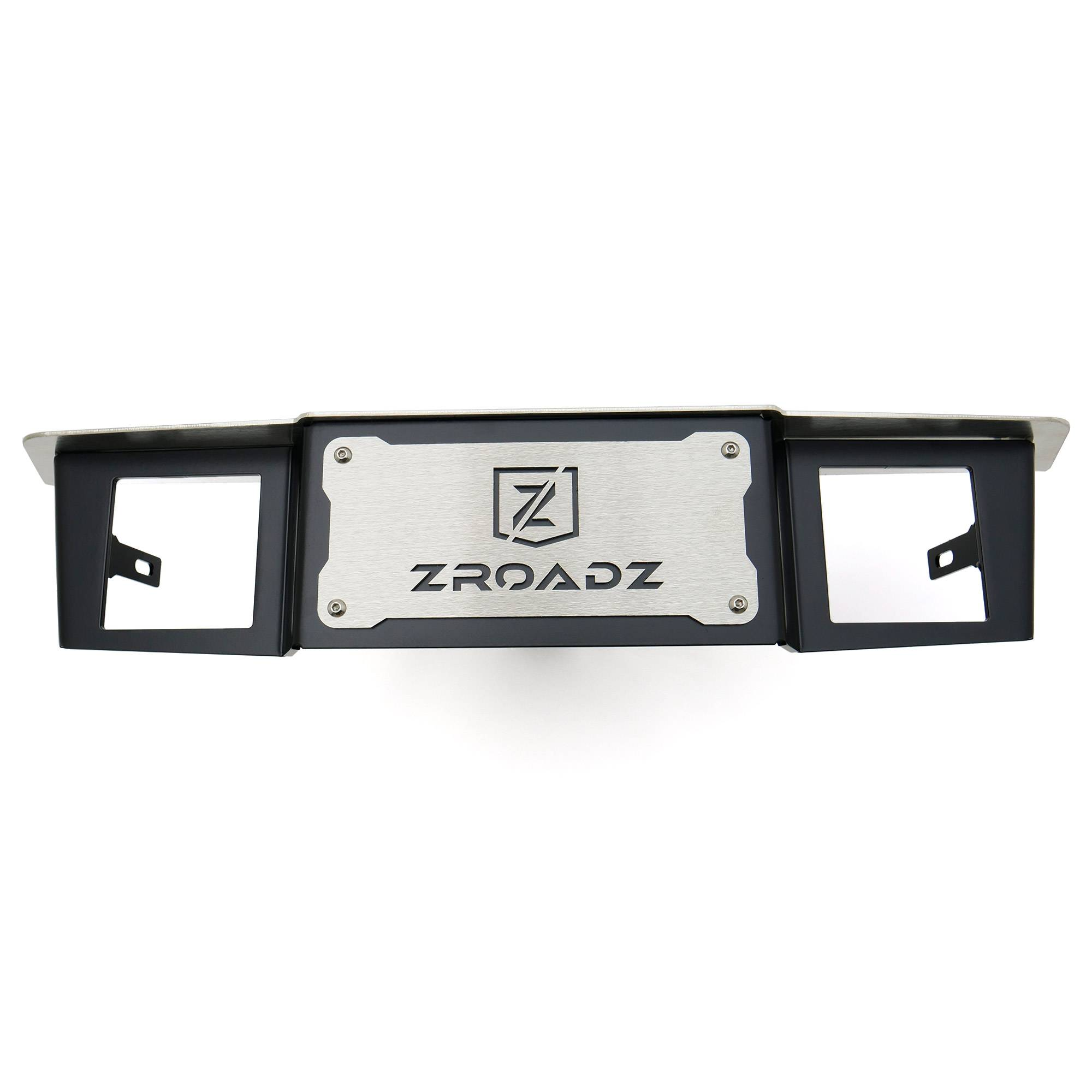 ZROADZ OFF ROAD PRODUCTS - Universal Hitch Step LED Bracket 2 Inch Hitch Receiver, to mount (2) 3 Inch LED Pod Lights - PN #Z390010