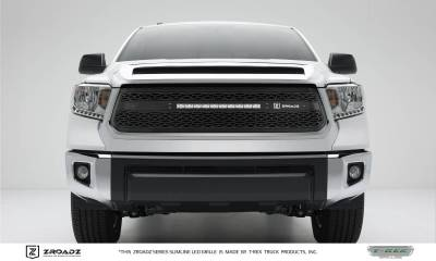 "T-REX GRILLES - 2014-2017 Tundra ZROADZ Grille, Black, 1 Pc, Replacement, Incl. (1) 20"" LED - PN #Z319641 - Image 1"