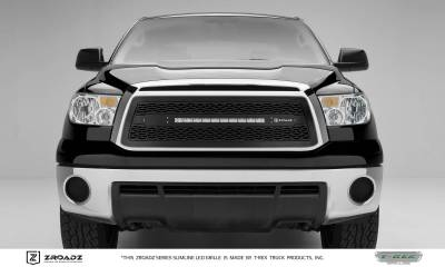 "T-REX GRILLES - 2010-2013 Tundra ZROADZ Grille, Black, 1 Pc, Insert with (1) 20"" LED - PN #Z319631 - Image 1"