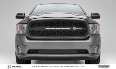 "T-REX GRILLES - 2013-2018 Ram 1500 ZROADZ Grille, Black, 1 Pc, Insert with (1) 20"" LED - PN #Z314581 - Image 1"