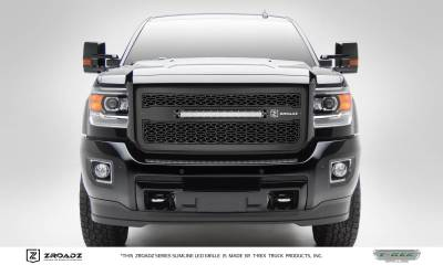 "2015-2019 Sierra HD ZROADZ Grille, Black, 1 Pc, Insert, Incl. (1) 20"" LED - PN #Z312111 - Image 1"