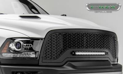"T-REX GRILLES - 2015-2018 Ram 1500 Rebel ZROADZ Grille, Black, 1 Pc, Replacement, Incl. (1) 20"" LED - PN #Z314551 - Image 8"