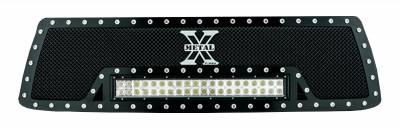 "2010-2013 Tundra Torch Grille, Black, 1 Pc, Insert, Chrome Studs, Incl. (1) 20"" LED - PN #6319631 - Image 4"