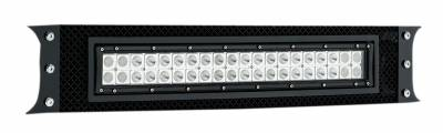 "T-REX GRILLES - 2011-2016 Super Duty Torch Bumper Grille, Black, 1 Pc, Bolt-On, Chrome Studs with (1) 20"" LED - PN #6325461 - Image 2"