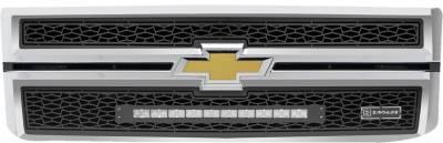"""2014-2015 Silverado 1500 ZROADZ Grille, Black, 2 Pc, Replacement, Incl. (1) 20"""" LED - PN #Z311211 - Image 2"""