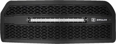 "T-REX GRILLES - 2015-2017 F-150 ZROADZ Grille, Black, 1 Pc, Replacement, Incl. (1) 20"" LED - PN #Z315731 - Image 2"