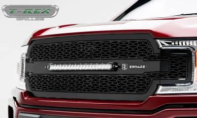 "T-REX GRILLES - 2018-2020 F-150 ZROADZ Grille, Black, 1 Pc, Replacement, Incl. 20"" LED - PN #Z315711 - Image 5"