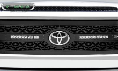 "T-REX GRILLES - 2018-2021 Tundra ZROADZ Grille, Black, 1 Pc, Replacement with (2) 10"" LEDs - PN #Z319661 - Image 6"