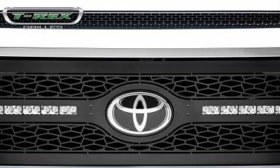 "T-REX GRILLES - 2018-2021 Tundra ZROADZ Grille, Black, 1 Pc, Replacement with (2) 10"" LEDs - PN #Z319661 - Image 7"