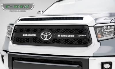 "T-REX GRILLES - 2018-2021 Tundra ZROADZ Grille, Black, 1 Pc, Replacement with (2) 10"" LEDs - PN #Z319661 - Image 1"