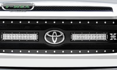 "2018-2019 Tundra Torch Grille, Black, 1 Pc, Replacement, Chrome Studs, Incl. (2) 12"" LEDs - PN #6319661 - Image 5"