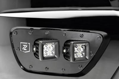 ZROADZ                                             - 2015-2019 Chevrolet Colorado Front Bumper OEM Fog LED Bracket to mount (2) 3 Inch LED Pod Lights - PN #Z322671 - Image 5