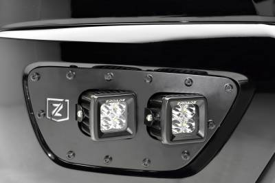 ZROADZ                                             - 2015-2020 Chevrolet Colorado Front Bumper OEM Fog LED Kit with (4) 3 Inch LED Pod Lights - PN #Z322671-KIT - Image 3