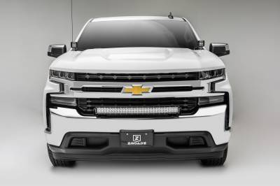 2019 Chevrolet Silverado 1500 Front Bumper Top LED Kit, Incl. (1) 30 Inch LED Curved Double Row Light Bar - PN #Z322282-KIT - Image 3