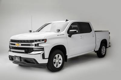 2019 Chevrolet Silverado 1500 Front Bumper Top LED Kit, Incl. (1) 30 Inch LED Curved Double Row Light Bar - PN #Z322282-KIT - Image 7