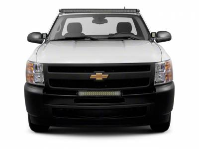 ZROADZ OFF ROAD PRODUCTS - 2007-2013 Chevrolet Silverado 1500 Front Bumper Top LED Bracket to mount (1) 30 Inch LED Light Bar - PN #Z322051 - Image 1