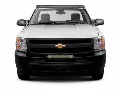 ZROADZ                                             - 2007-2013 Chevrolet Silverado 1500 Front Bumper Top LED Kit with (1) 30 Inch LED Straight Double Row Light Bar - PN #Z322051-KIT - Image 1