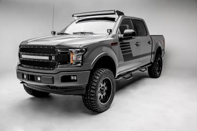 2018-2019 Ford F-150 Lariat, Limited Front Bumper Center LED Kit, Incl. (2) 3 Inch LED Pod Lights - PN #Z325711-KIT - Image 4