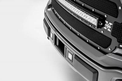 2018-2019 Ford F-150 Lariat, Limited Front Bumper Center LED Kit, Incl. (2) 3 Inch LED Pod Lights - PN #Z325711-KIT - Image 8