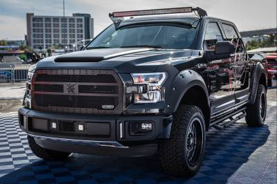 2015-2019 Ford F-150 Front Roof LED Kit, Incl. (1) 50 Inch LED Curved Double Row Light Bar - PN #Z335731-KIT-C - Image 2