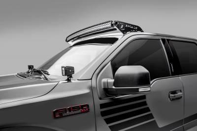 ZROADZ                                             - 2018-2020 Ford F-150 Hood Hinge LED Bracket to mount (2) 3 Inch LED Pod Lights - PN #Z365711 - Image 2